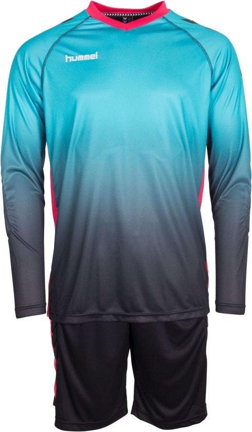 Hummel Keepersset Unity Shirt En Short Blauw - Maat S