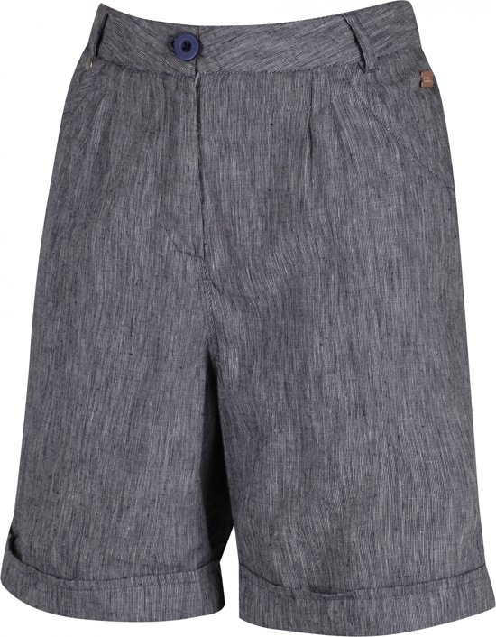 Blauw Outdoorbroek Regatta Short Samarah Dames nqc4xOFa
