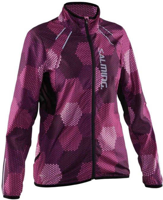 Salming Ultralight 2.0 Jacket - Hardloopjas - Vrouwen - Azalea pink- XL