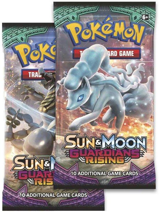 Afbeelding van het spel 2 Pakjes Pokemon Kaarten Sun & Moon Guardians Rising