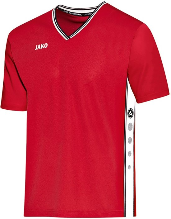 Jako Shooting Center Shirt - Shirts  - rood - XS