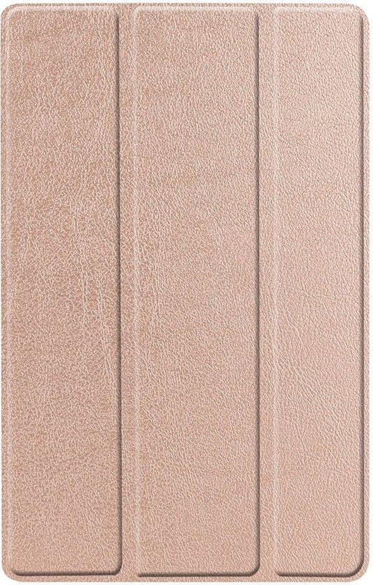 Shop4 - Samsung Galaxy Tab A 10.1 (2019) Hoes - Smart Book Case Rosé Goud