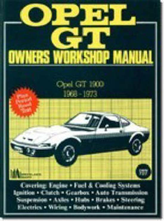 Opel GT 1968-73 Owners Workshop Manual