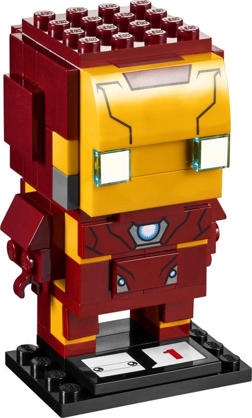 Afbeeldingsresultaat voor lego brickheadz iron man