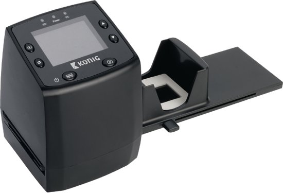 Film scanner with LCD 5 megapixel