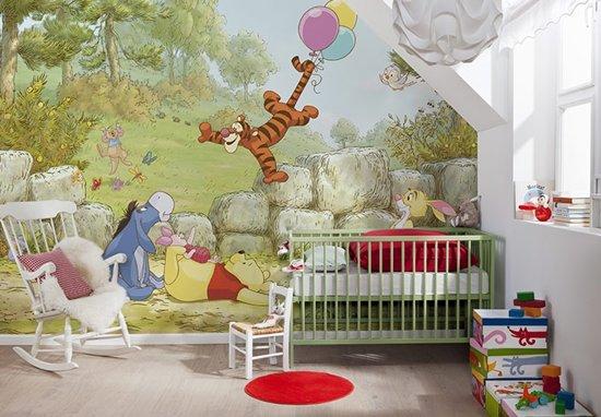 Behang Voor Kinderkamer : Bol fotobehang papierbehang winnie de pooh ballonnen