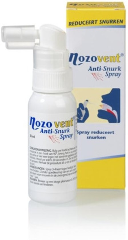 Nozovent a-snurk spray + 30 ml