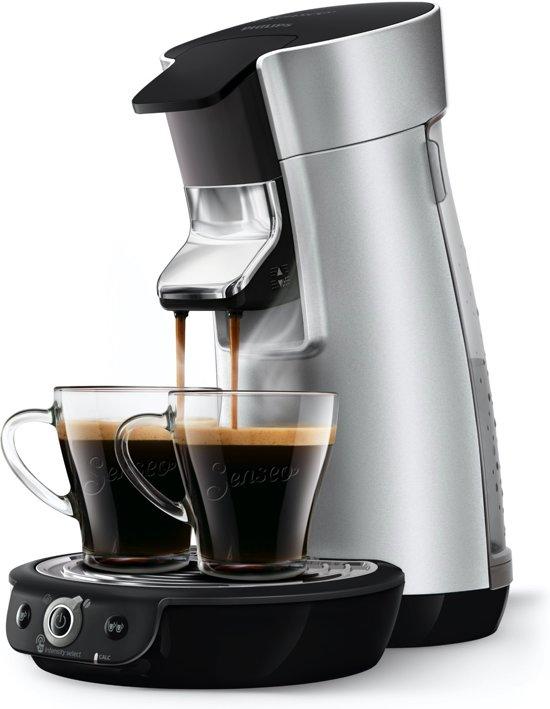 Philips SENSEO® Viva Café Duo Select HD6566/10 - Koffiepadapparaat - Zilver
