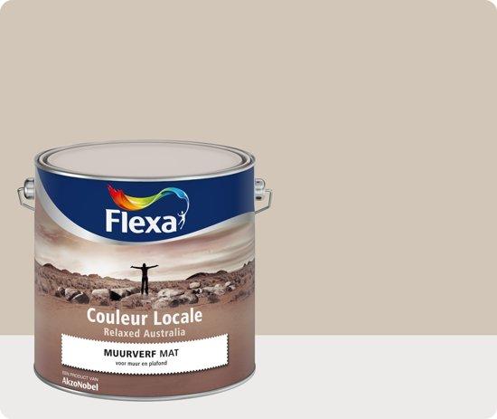 Flexa Couleur Locale - Muurverf Mat - Relaxed Australia Mist  - 4015 - 2,5 liter