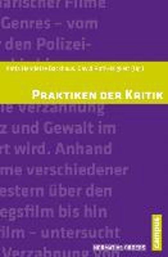Boek cover Praktiken der Kritik van Katia Henriette Backhaus (Paperback)