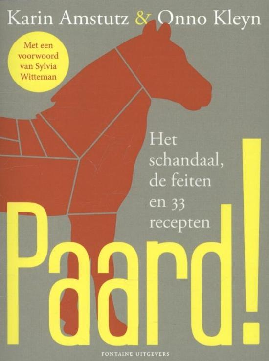 Boek cover Paard! van Amstutz (Paperback)