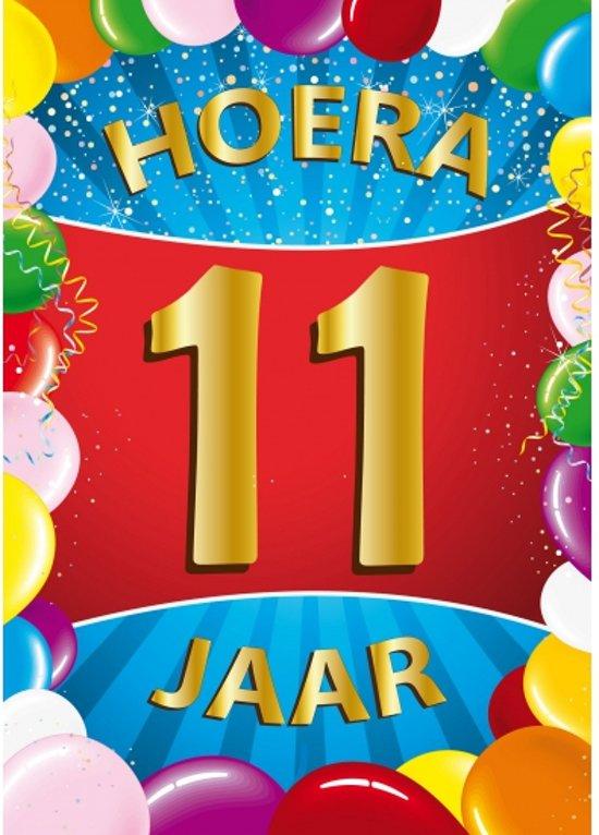 verjaardag 11 jaar bol.| 11 jaar mega deurposter, Shoppartners | Speelgoed verjaardag 11 jaar