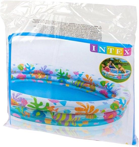 Intex Vissen Zwembad - 132x28cm