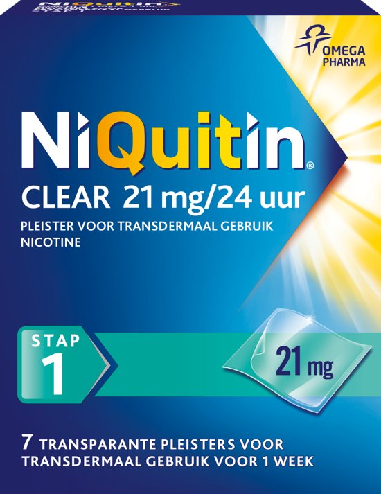 NiQuitin Clear Pleisters