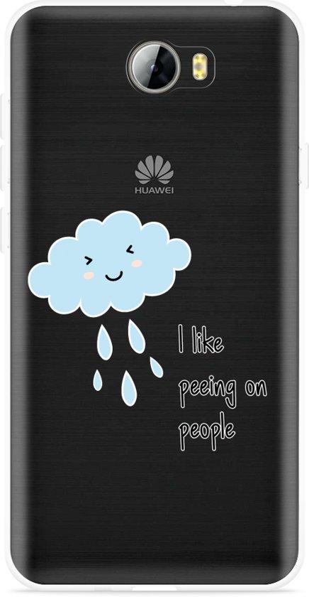 Huawei Y5II / Y6II Compact Hoesje Cloud