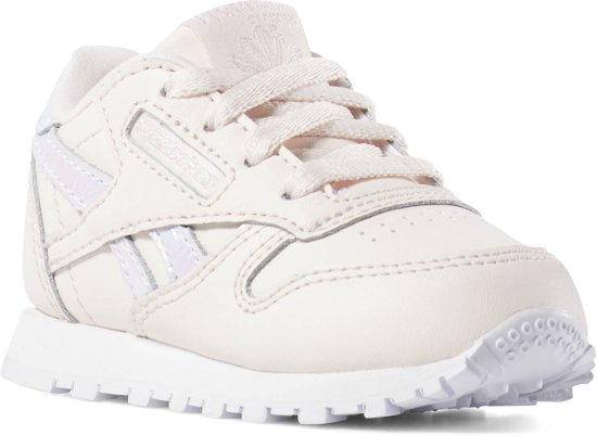 8c90a275cd3 Reebok Classic Leather Sneakers Meisjes - Pale Pink/White - Maat 25.5
