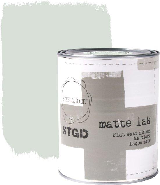 Stapelgoed - Matte Lak - Early dew - Groen - 1L
