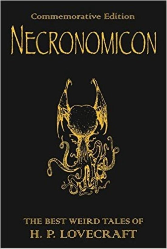 Boek cover Necronomicon van H. P. Lovecraft (Hardcover)