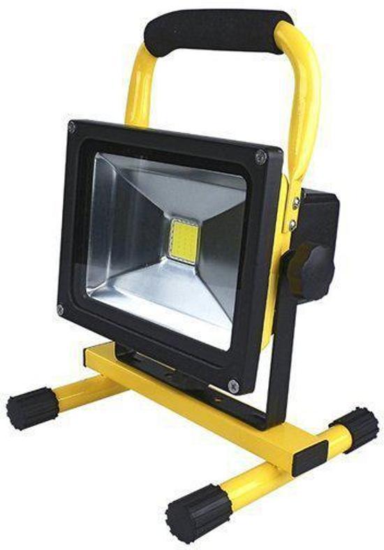 Accu Led bouwlamp 30 Watt Daglicht