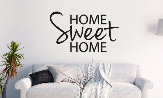 Muursticker Home Sweet Home.Bol Com Muursticker Home Sweet Home