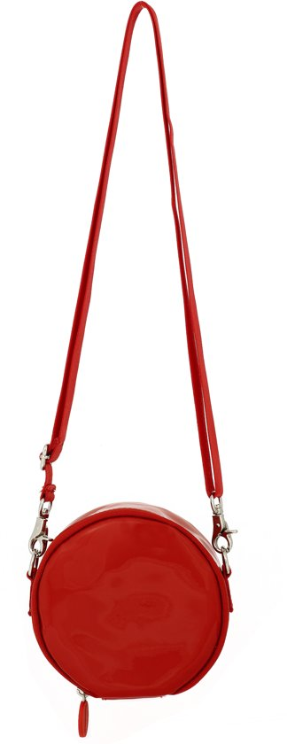 Schoudertas box rouge