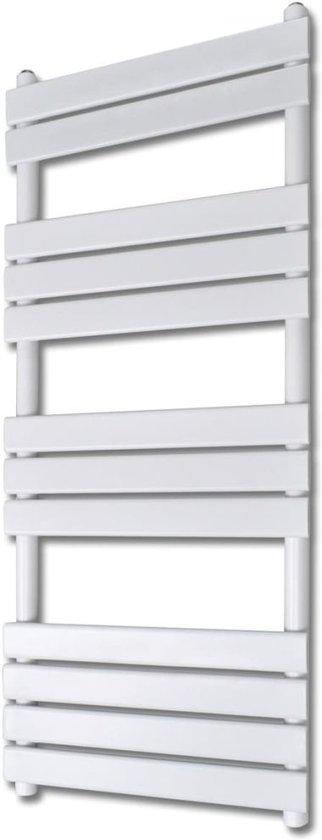 bolcom  Badkamer design radiator 600 x 1400 mm (recht) # Design Radiator Badkamer Middenaansluiting_080254