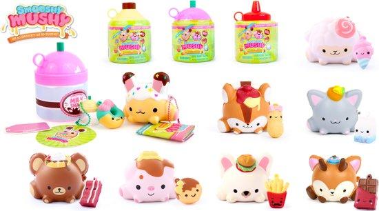 Afbeelding van Smooshy Mushy Squishy in flesje serie 1 - 1 squishy per flesje speelgoed