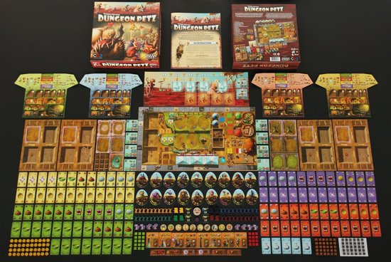 Dungeon Petz - Bordspel