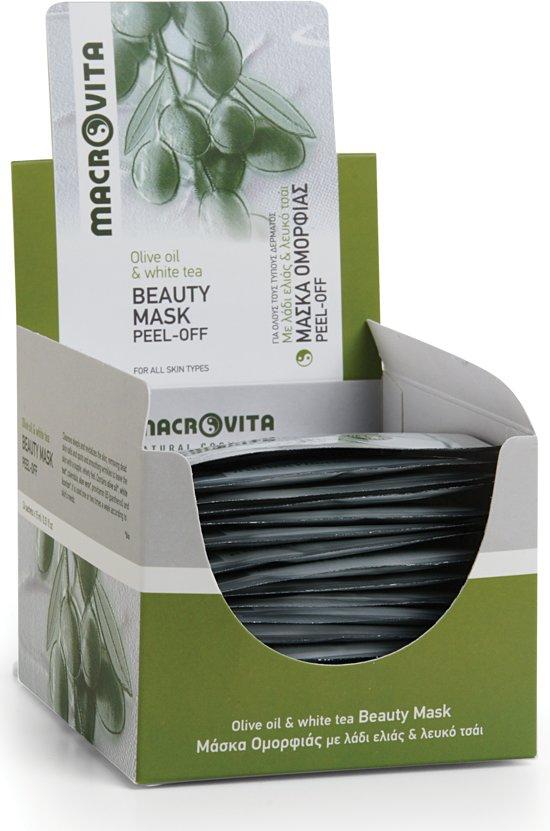 Macrovita Peel-off Gezichtsmasker (zakje) - 5 stuks voordeelverpakking
