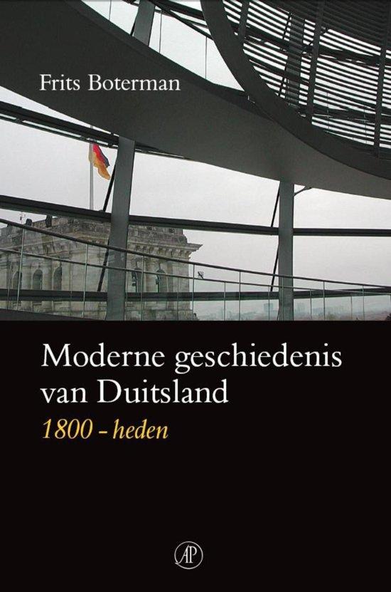 Moderne geschiedenis van Duitsland