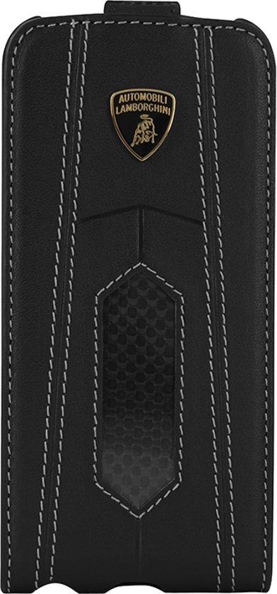 Lamborghini LA255172 Flip case Zwart mobiele telefoon behuizingen