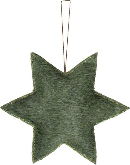 Wanddecoratie Groene Ster (20 cm)