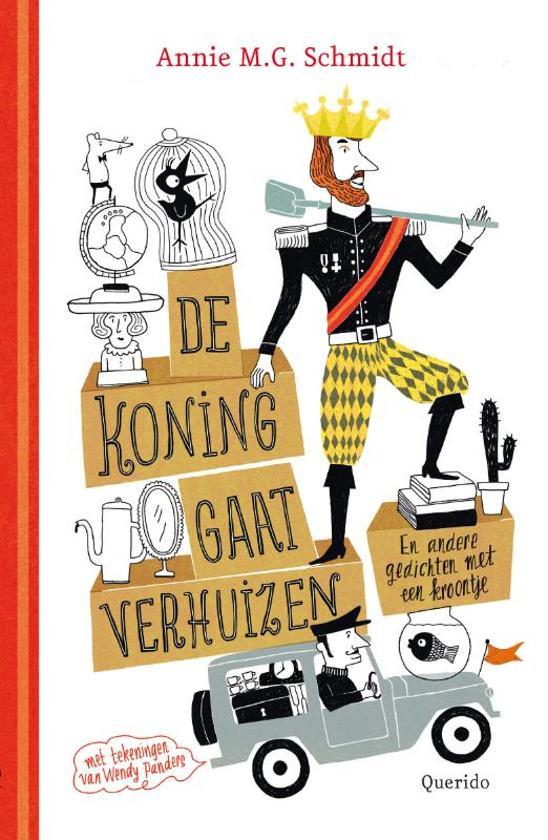 Cover van het boek 'De koning gaat verhuizen' van Annie M.G. Schmidt