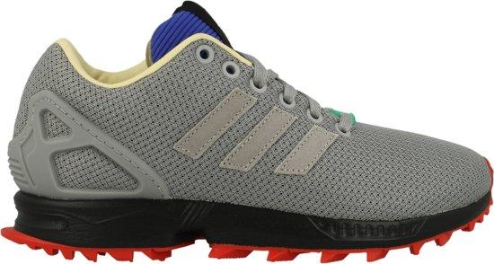adidas zx flux grijs zwart