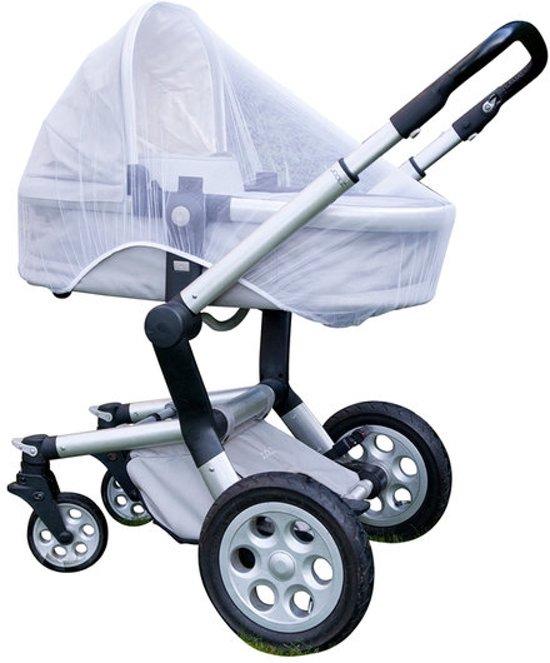 Kinderwagen Klamboe ook voor Buggy, Maxi Cosi of Co-Sleeper   Anti Muggen Beet   Musquitonet   Anti-Pollen   Beschutting tegen wind  90x140cm Altijd Gratis Verzending