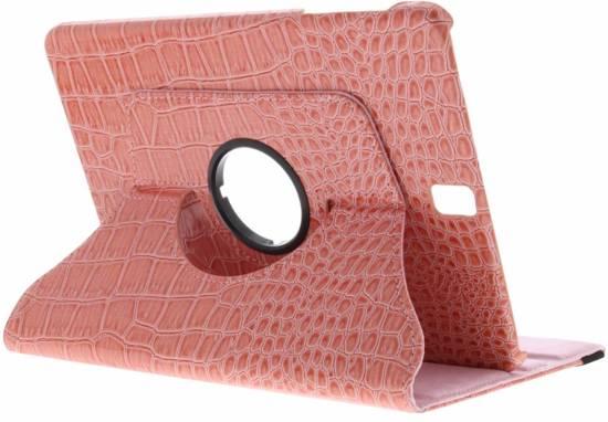 Rose 360º Manchon Comprimé De Crocodile Rotatif Pour L'onglet Casemate A 10,1 (2016)