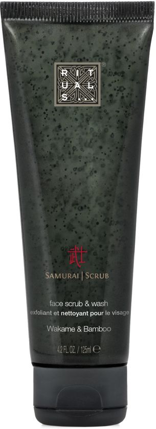 RITUALS The Ritual of Samurai 2 in 1 reinigende scrub - 125 ml