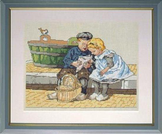Ot En Sien Kinderkleding.Bol Com Borduurpakket 19009 Cornelis Jetses Ot En Sien Snoepen