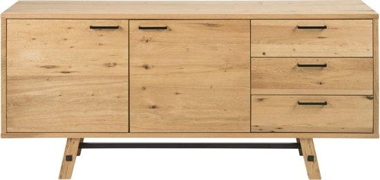 Dressoir Eikenhout Modern.Bol Com 24designs Dressoir Kopenhagen L180 X B44 X H85 Cm Eiken