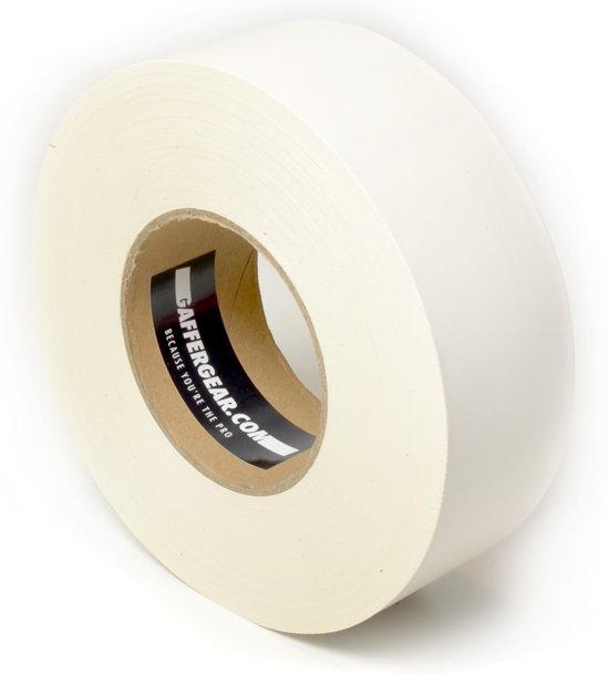 Gaffergear Gaffa tape 50mm x 50m wit