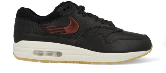 511bb34184e bol.com | Nike Air Max 1 Premium - Sneakers - Zwart/Wit/Gum - Unisex ...