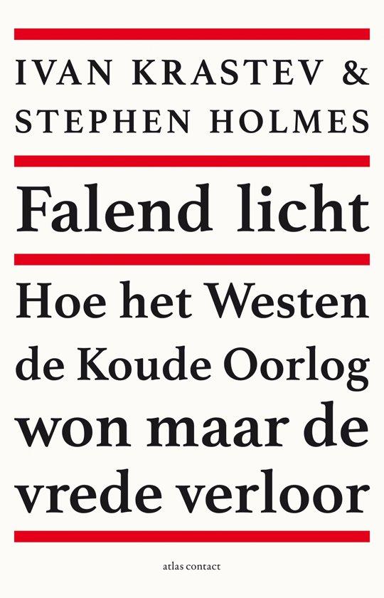 Boek cover Falend licht van Stephen Holmes (Paperback)