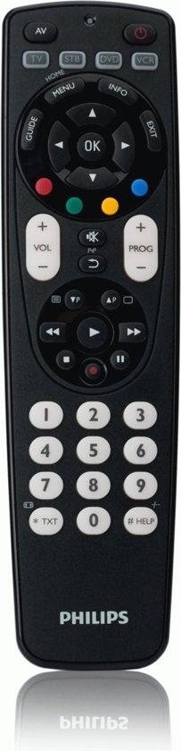 Philips SRP4004 - Universele afstandsbediening - Zwart