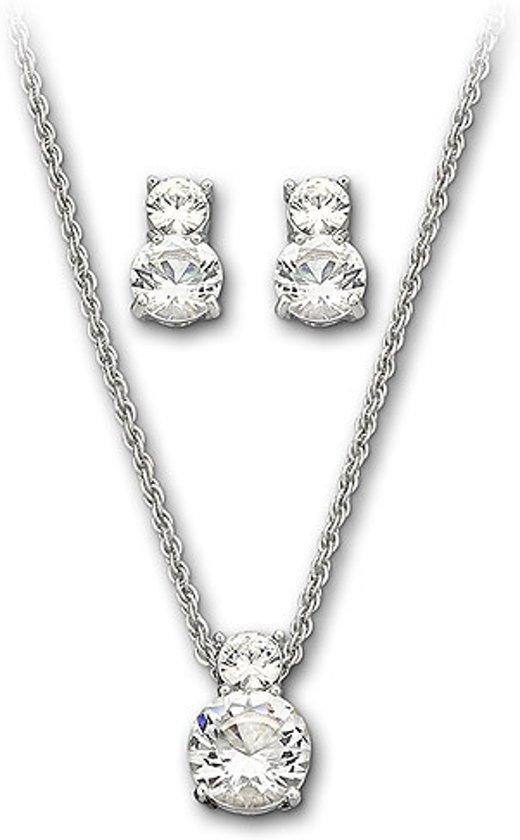 Swarovski Geschenkset Brilliance 1807339 - Zilverkleurig - 40 cm