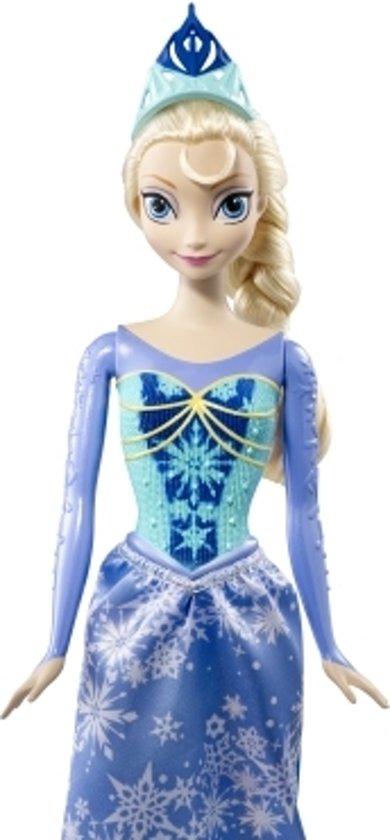Disney Frozen-Royal-Color-Elsa-Doll-blauw - Maat One-size