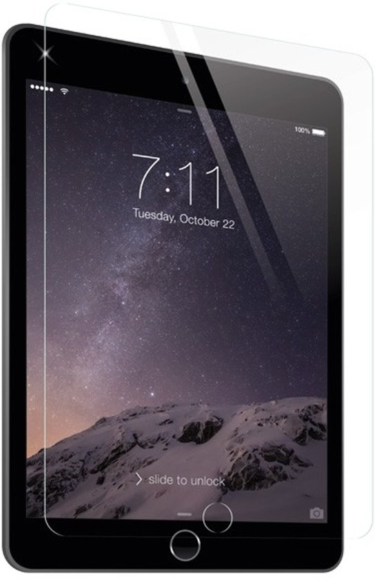 ZAGG InvisibleSHIELD iPad Air/Air 2 HDX screenprotector in Ursem