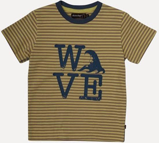 Minymo -  jongens t-shirt - geel
