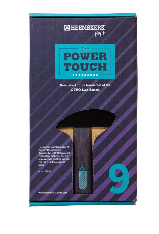 Tafeltennisbatje Heemskerk Power Touch 9 ster