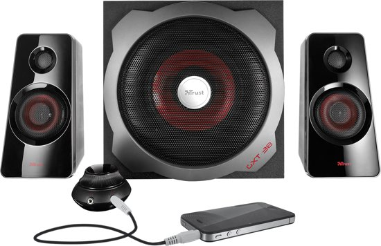 GXT 38 Tytan  - 2.1 Subwoofer Speakerset - Zwart