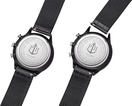 Paul Hewitt Chrono Line Black Sunray Horloge
